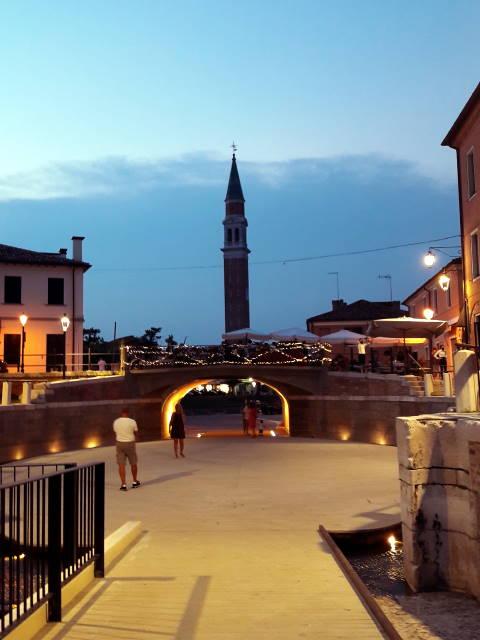 Dolo di sera, Riviera del Brenta, Venezia