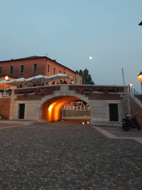 Dolo by night, Riviera del Brenta, Venezia, Veneto