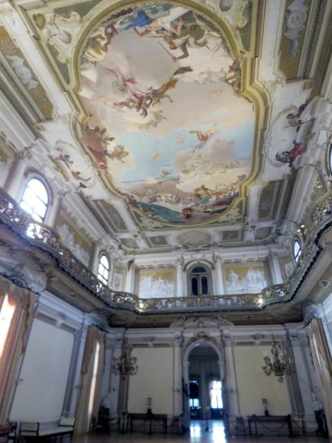 Villa Pisani, sala da ballo, Riviera del Brenta, venezia