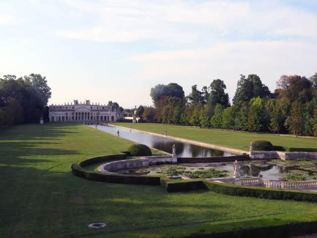 Villa Pisani, giardino, Riviera del Brenta, Venezia