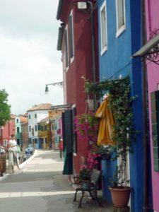 Burano, laguna di Venezia