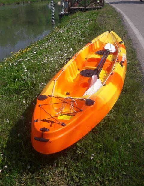 Tandem kayak, Riviera del Brenta, Venezia