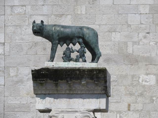Aquileia, lupa di Roma
