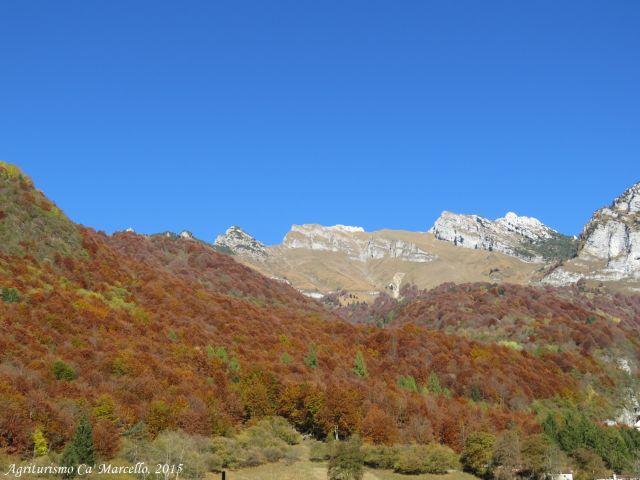 Verso Barcis, panorama