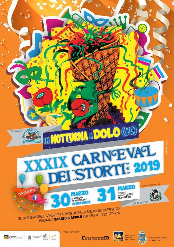 Carnevale dei storti, Riviera del Brenta, Venezia