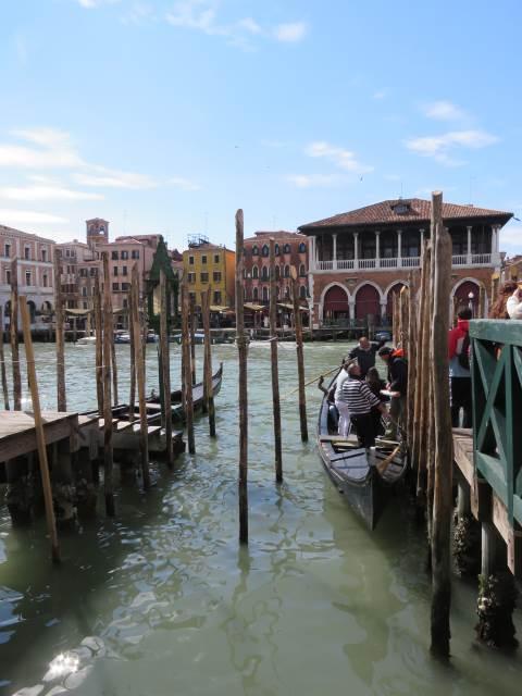Venezia, gondola traghetto