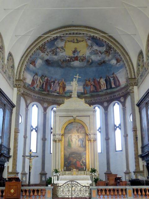Montagnana, affreschi del Duomo, Padova