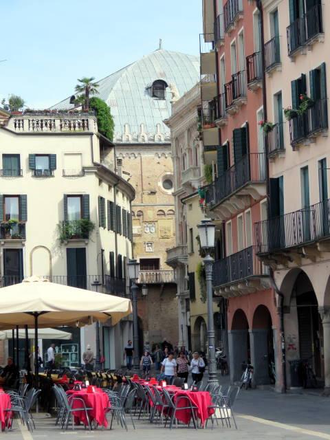 Piazza dei Signori, Padova,, Veneto