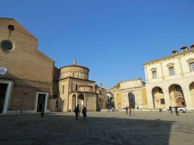 Piazza Duomo, Padova, veneto