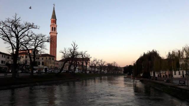 Dolo, tramonto, Riviera del Brenta